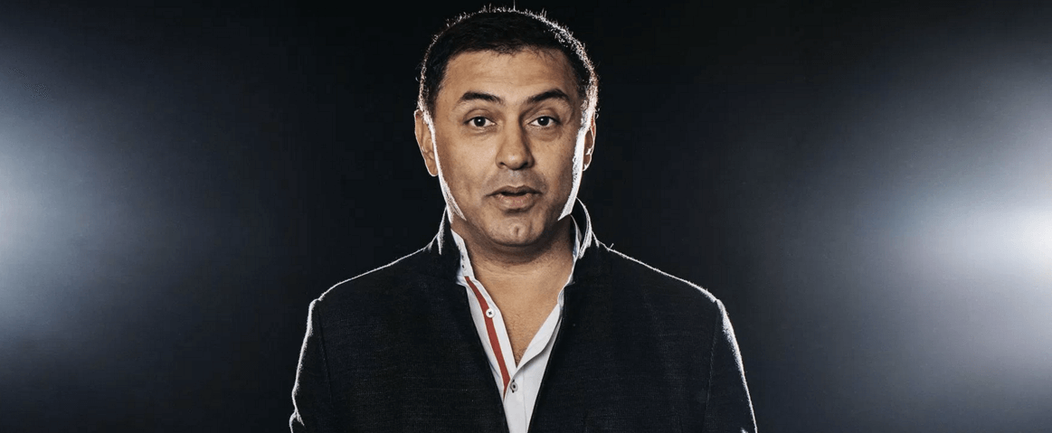 Nikesh Arora by Benjamin Rasmussen for Fortune