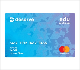 Deserve EDU Platinum Mastercard